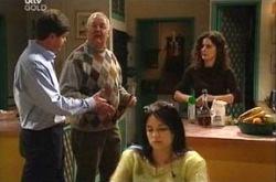 David Bishop, Harold Bishop, Sky Mangel, Liljana Bishop in Neighbours Episode 4394
