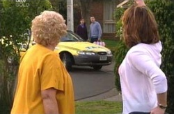 Valda Sheergold, Lyn Scully, Susan Kennedy, Karl Kennedy in Neighbours Episode 4394