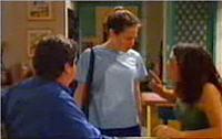 Serena Bishop, David Bishop, Liljana Bishop in Neighbours Episode 4414