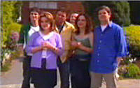 Jack Scully, Lyn Scully, Joe Scully, Liljana Bishop, David Bishop in Neighbours Episode 4414