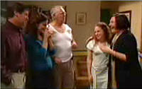 David Bishop, Liljana Bishop, Harold Bishop, Serena Bishop, Svetlanka Ristic in Neighbours Episode 4415