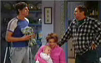 Jack Scully, Oscar Scully, Lyn Scully, Joe Scully in Neighbours Episode 4415
