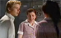 Boyd Hoyland, Erin Perry, Sky Mangel in Neighbours Episode 4417