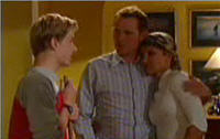 Boyd Hoyland, Steph Scully, Max Hoyland in Neighbours Episode 4417