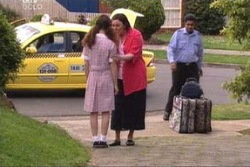 Serena Bishop, Svetlanka Ristic in Neighbours Episode 4424
