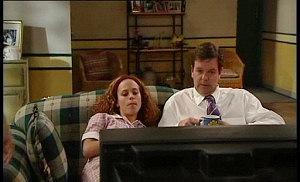 Serena Bishop, David Bishop in Neighbours Episode 4509