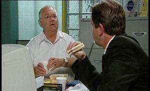 Harold Bishop, David Bishop in Neighbours Episode 4509