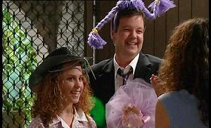 Serena Bishop, David Bishop, Liljana Bishop in Neighbours Episode 4509