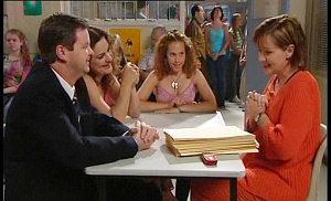 David Bishop, Liljana Bishop, Serena Bishop, Susan Kennedy in Neighbours Episode 4516
