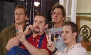 Stuart Parker, Toadie Rebecchi, Ned Parker, Connor O