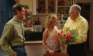 David Bishop, Serena Bishop, Harold Bishop in Neighbours Episode 4812