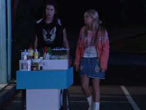 Dylan Timmins, Sky Mangel in Neighbours Episode 4895