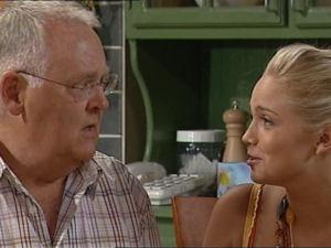 Harold Bishop, Sky Mangel in Neighbours Episode 4998