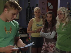 Boyd Hoyland, Janae Timmins, Summer Hoyland, Bree Timmins in Neighbours Episode 4998