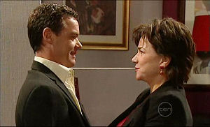 Paul Robinson, Lyn Scully in Neighbours Episode 5096