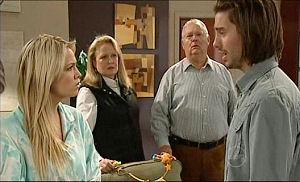 Loris Timmins, Harold Bishop, Sky Mangel, Dylan Timmins in Neighbours Episode 5098