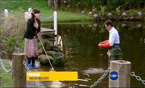 Lyn Scully, Paul Robinson in Neighbours Episode 5103