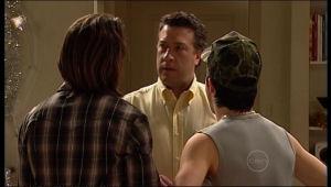Dylan Timmins, Stingray Timmins, Allan Steiger in Neighbours Episode 5125