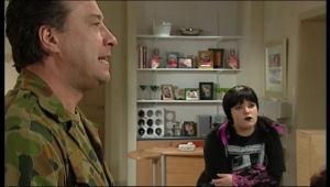 Allan Steiger, Bree Timmins in Neighbours Episode 5126