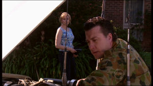 Allan Steiger, Janelle Timmins in Neighbours Episode 5126
