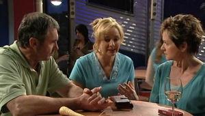 Karl Kennedy, Janelle Timmins, Susan Kennedy in Neighbours Episode 5127
