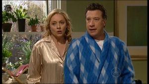 Janelle Timmins, Allan Steiger in Neighbours Episode 5133