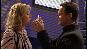 Paul Robinson, Janelle Timmins in Neighbours Episode 5133