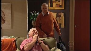 Lou Carpenter, Harold Bishop in Neighbours Episode 5134