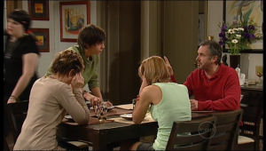 Bree Timmins, Susan Kennedy, Zeke Kinski, Rachel Kinski, Karl Kennedy in Neighbours Episode 5136