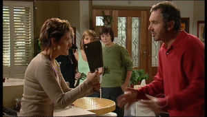 Zeke Kinski, Susan Kennedy, Bree Timmins, Karl Kennedy in Neighbours Episode 5136