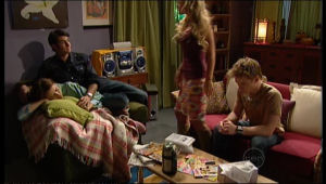 Rosie Cammeniti, Frazer Yeats, Pepper Steiger, Ringo Brown in Neighbours Episode 5137