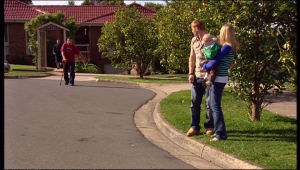 Toadie Rebecchi, Boyd Hoyland, Charlie Hoyland, Janae Timmins in Neighbours Episode 5138