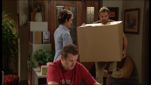 Toadie Rebecchi, Susan Kennedy, Karl Kennedy in Neighbours Episode 5139