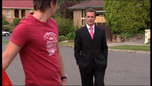 Paul Robinson, Ned Parker in Neighbours Episode 5143