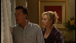 Allan Steiger, Janelle Timmins in Neighbours Episode 5144