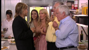 Andrew G, Louise Carpenter (Lolly), Pepper Steiger, Harold Bishop, Lou Carpenter in Neighbours Episode 5145