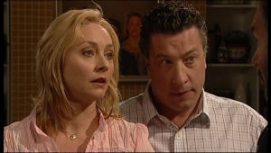 Janelle Timmins, Allan Steiger in Neighbours Episode 5146