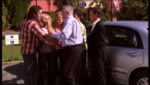 Dylan Timmins, Sky Mangel, Izzy Hoyland, Harold Bishop, Stingray Timmins, Paul Robinson in Neighbours Episode 5147