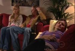 Elle Robinson, Oliver Barnes, Ned Parker in Neighbours Episode 5148