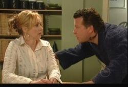 Janelle Timmins, Allan Steiger in Neighbours Episode 5148