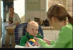 Charlie Hoyland, Summer Hoyland, Steph Scully in Neighbours Episode 5150