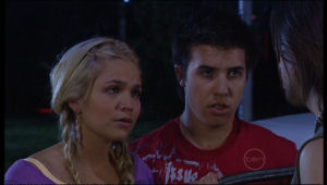 Sky Mangel, Stingray Timmins in Neighbours Episode 5154