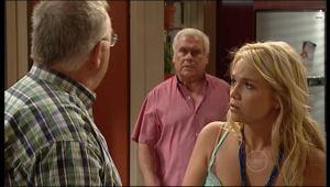 Harold Bishop, Lou Carpenter, Sky Mangel in Neighbours Episode 5154