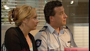 Janelle Timmins, Allan Steiger in Neighbours Episode 5157