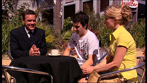 Paul Robinson, Stingray Timmins, Elle Robinson in Neighbours Episode 5157