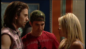 Dylan Timmins, Stingray Timmins, Sky Mangel in Neighbours Episode 5164