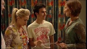 Harold Bishop, Sky Mangel, Stingray Timmins, Dr Roberta Marley in Neighbours Episode 5164