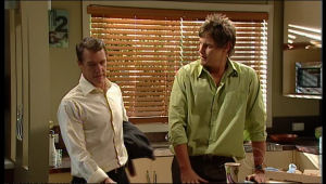 Paul Robinson, Ned Parker in Neighbours Episode 5167
