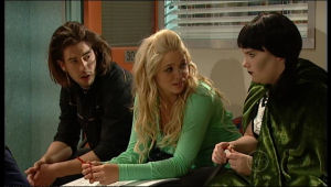 Dylan Timmins, Sky Mangel, Bree Timmins in Neighbours Episode 5170