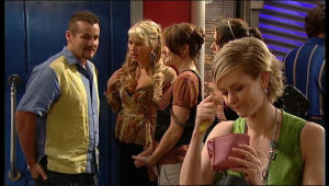 Toadie Rebecchi, Pepper Steiger, Rosie Cammeniti, Carmella Cammeniti, Abby Stafford in Neighbours Episode 5171